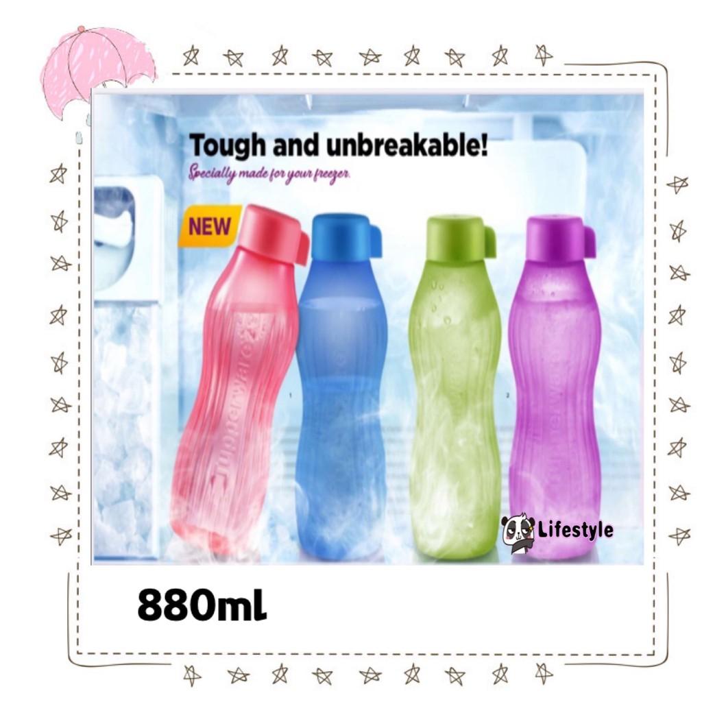 [Ready Stock]TUPPERWARE Eco Bottle XtremAqua 880ml / Xtrem Aqua drinking bottle / Cold (11157671)
