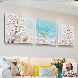 Bilik Corak Gambar Ruang Tamu Sofa Dinding Tergantung Dinding Rumah Latar Belakang Dinding Lukisan Dinding Hiasan Dindin Shopee Malaysia