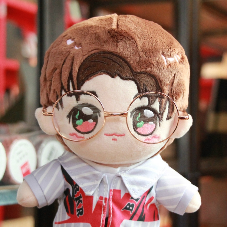 Kpop plush Doll Accessories Cute Sunglasses For Both 15cm And 20 Cm Dolls.