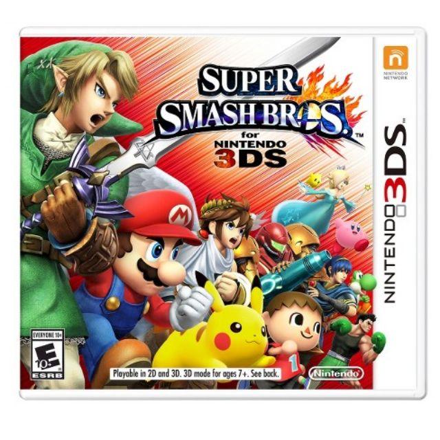 Original Nintendo 3DS Super Smash Bros USA English