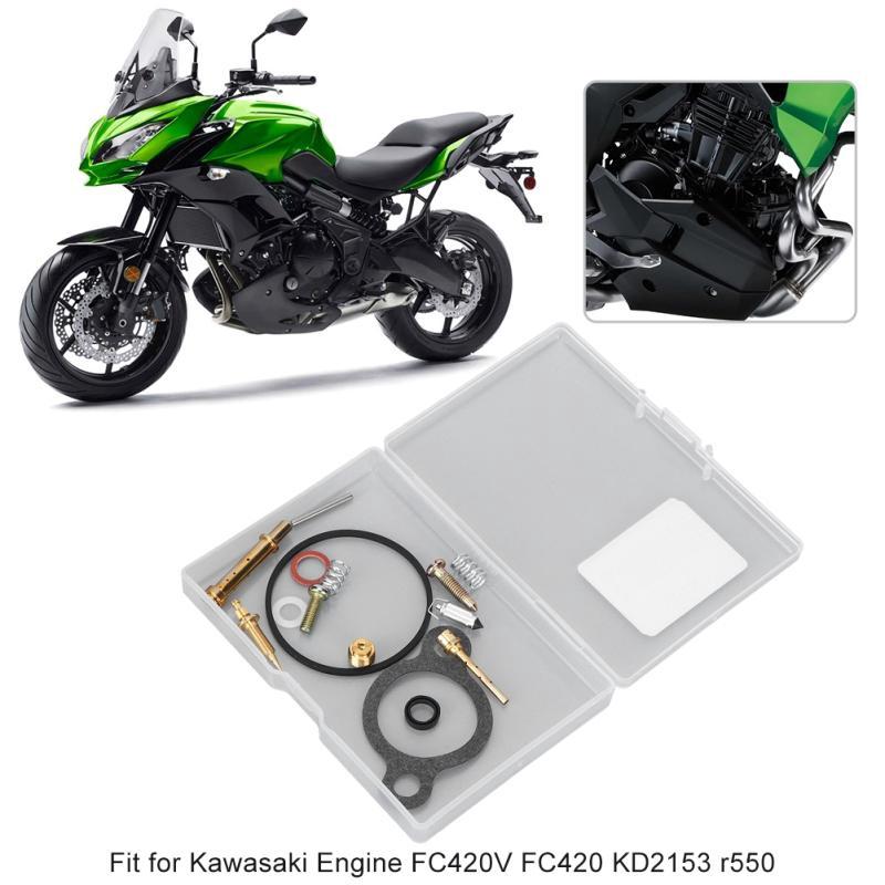 Carburetor Rebuild Repair Set for Kawasaki Engine FC420V FC420 KD2153 R550