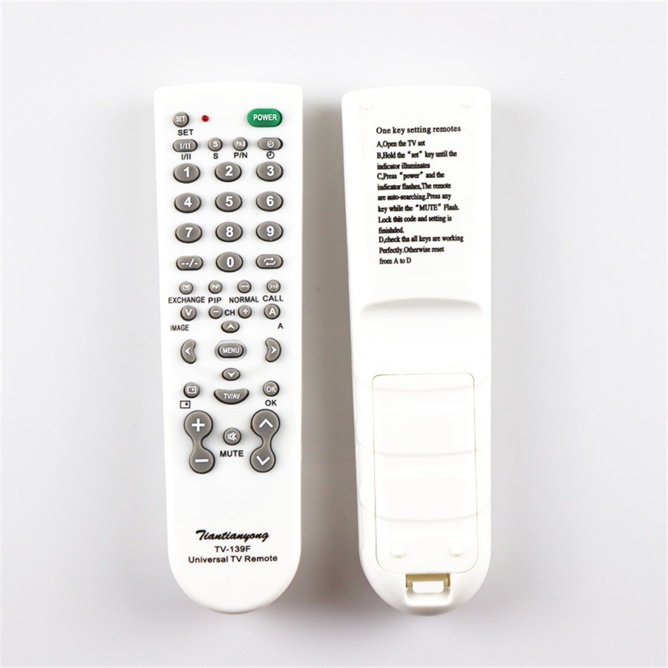 Universal TV Remote Control Smart Remote Controller for TV Television 139F