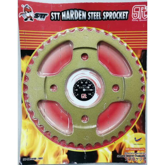 RS150 sprocket STT Harden steel   Shopee Malaysia
