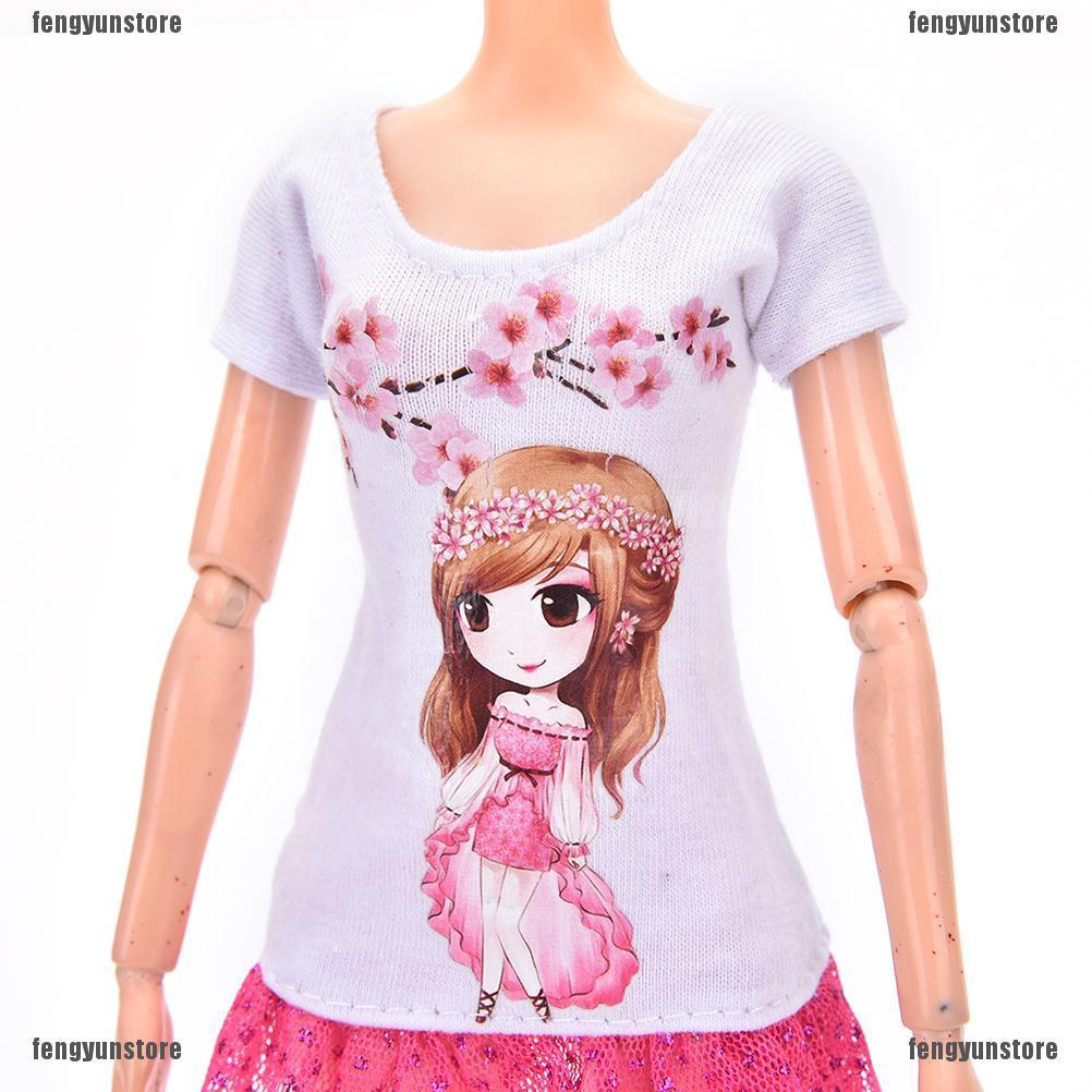 Beautiful DollSuit Handmade Party Clothes For  Noble Doll Best Gift PVCA
