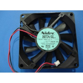 for NIDEC D08R-12TS 103B 801512V 0.09A 8CM 3-Wire Ultra-Quiet Cooling Fan
