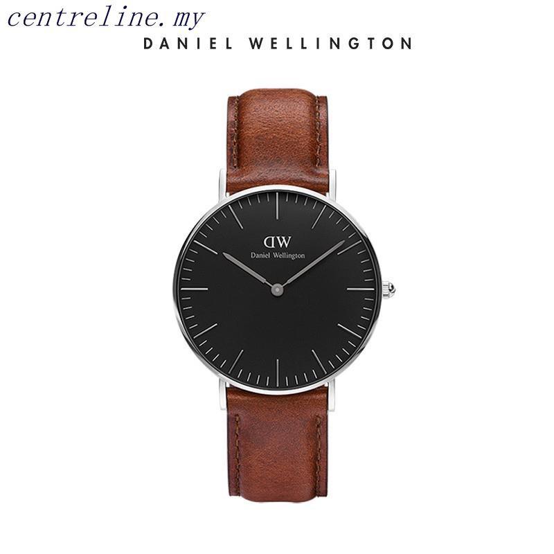 Daniel Wellington Men's Watch Imports Black Fashion Simple DW Watches Male 40mm