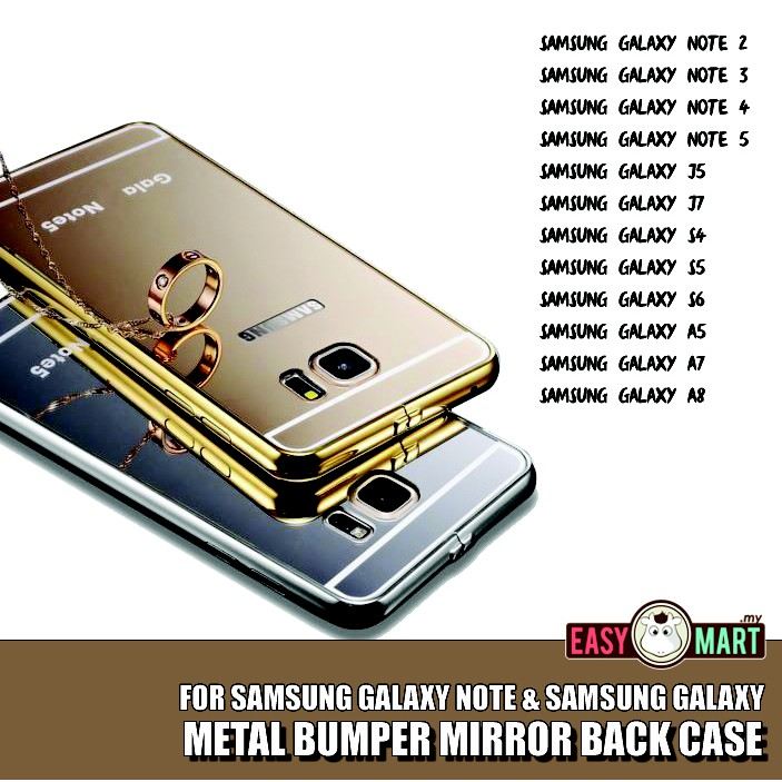ProductImage. ProductImage. Samsung Galaxy S7 Mirror Metal Bumper Case Casing