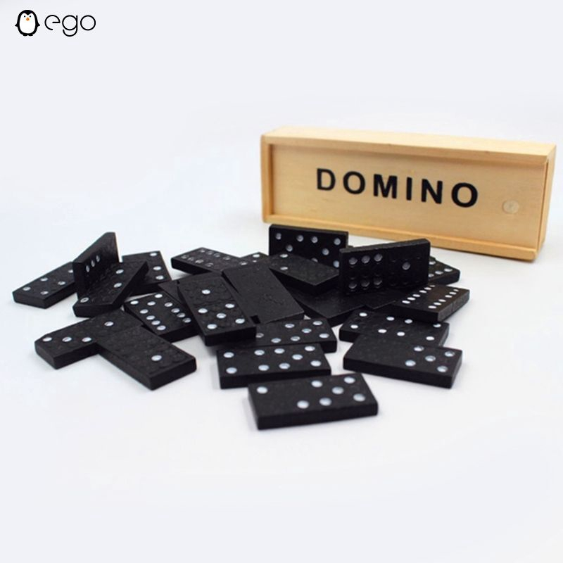 NEW IN BOX Wooden 3D Traffic Dominoes 28 Piece Educational Toy