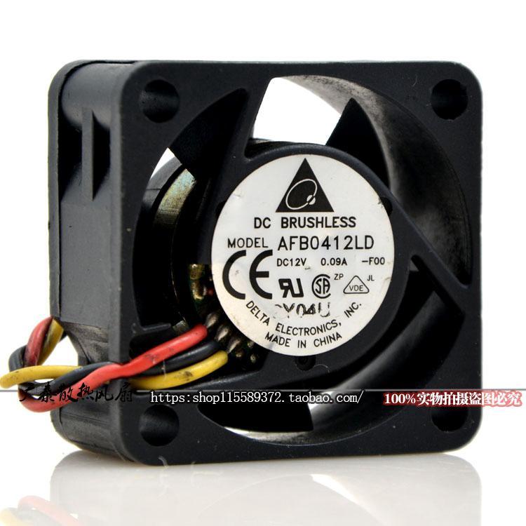 Original 4020 AD0424HB-C56 DC24V 0.09A 3-wire cooling fan