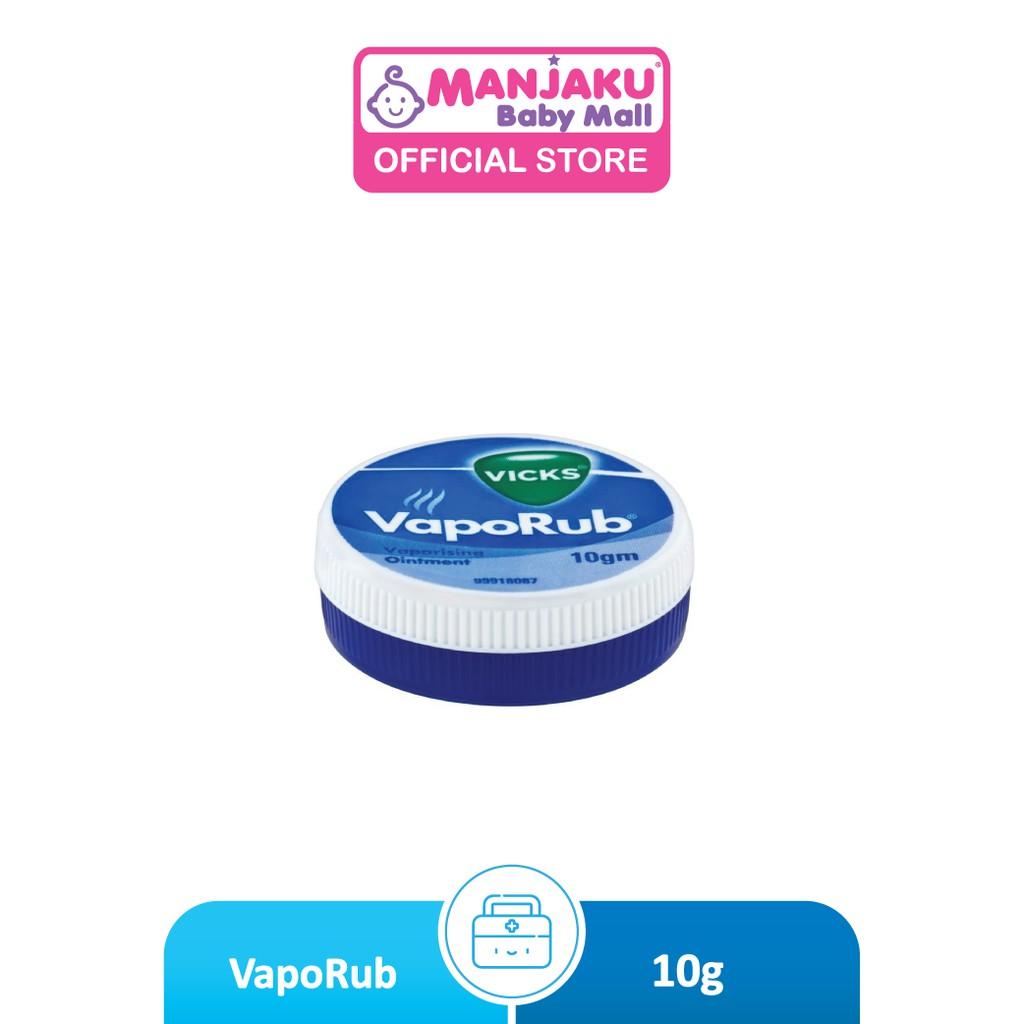 Vicks Vaporub (10g) - Vicks Inhaler (Model: PGVC010)