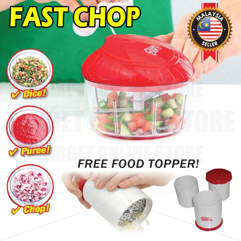 Red Garlic Press and Mincer Garlic Press and Mincer Meat Grinder Vegetable Fruit Twist Shredder Sturdy Construction with Stainless Steel Blades