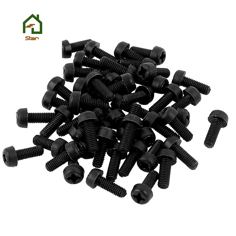 M3 Nut /& Washer Pack x 5 3mm x 16mm Long Nylon Plastic Slotted Machine Screw