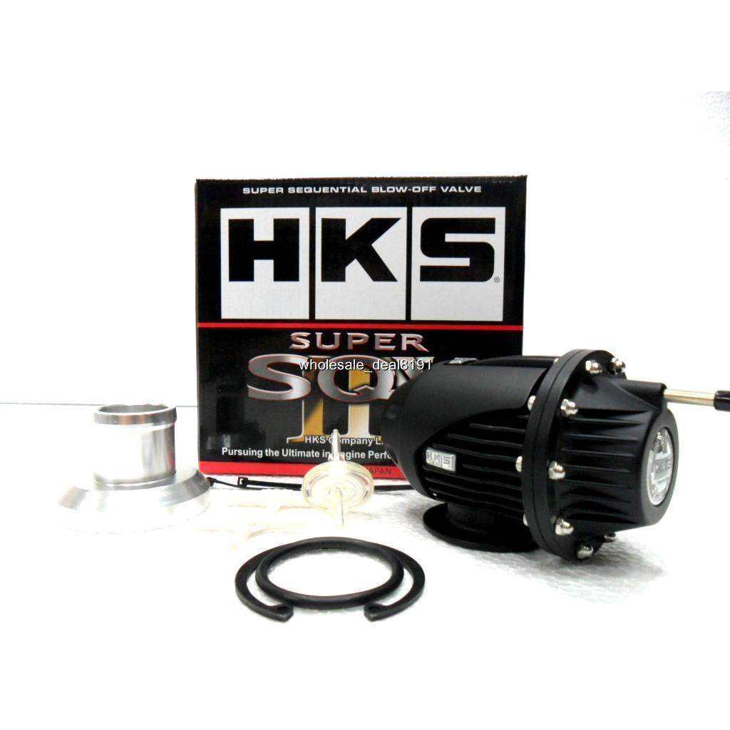 HKS SQV IV Blow off valve Black Limited Sequential Blow Off Valve SQV4
