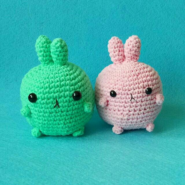 Velvet Bunny Amigurumi Free Crochet Pattern - Crochet For You | 640x640