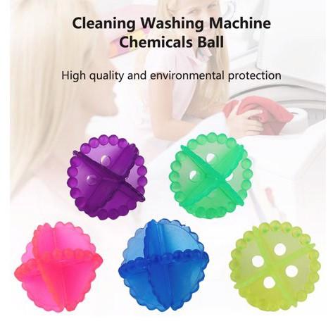 Washing Machine Laundry Ball Clothes Washing Machine Chemicals Dryer Ball 2 PCS