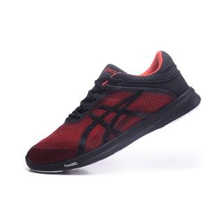 wholesale Asics Gel fuzex Rush Trainer men shoes running shoes gym shoes  Red  02e2b2fe8e