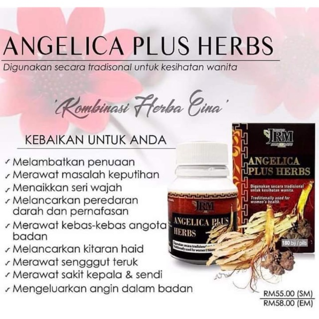 Angelica Plus Herbs JRM