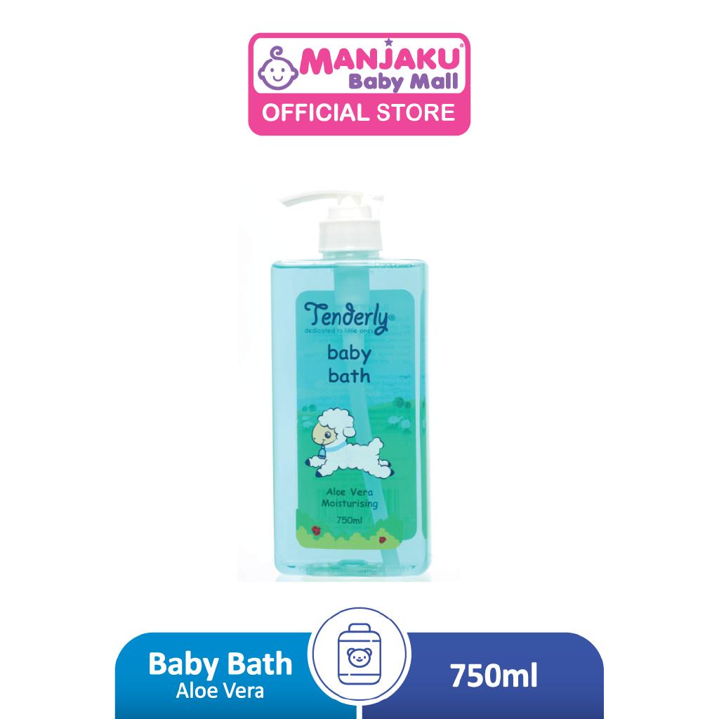 Tenderly Baby Bath Aloe Vera (750ml)