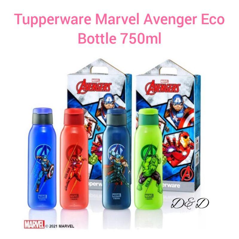 Tupperware Marvel Avenger Eco Bottle 750ml [Iron man / Captain America / Thor / Hulk]