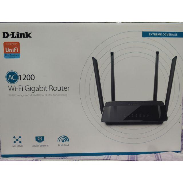 D-link AC1200 Gigabit Router