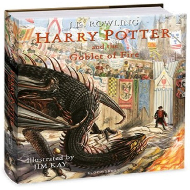 Harry Potter and the Goblet of Fire Illustrated Edition By (Author):Rowling, J.K. ISBN : 9781408845677