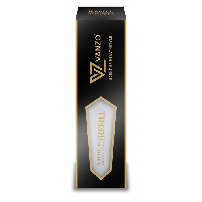 Vanzo Car Perfume Air Freshener Duo Series Car Air Refresher ( Buy Vanzo Free Soft 99 Perfume )