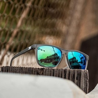 bc9f57e80 Knockaround Frosted Grey / Green Moonshine Fast Lanes | Shopee Malaysia