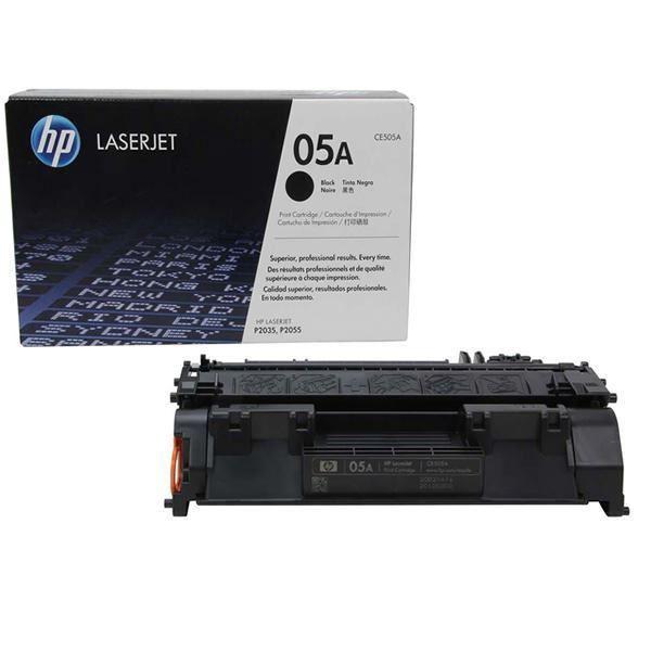 HP 05A Black Original LaserJet Toner Cartridge - CE505AC
