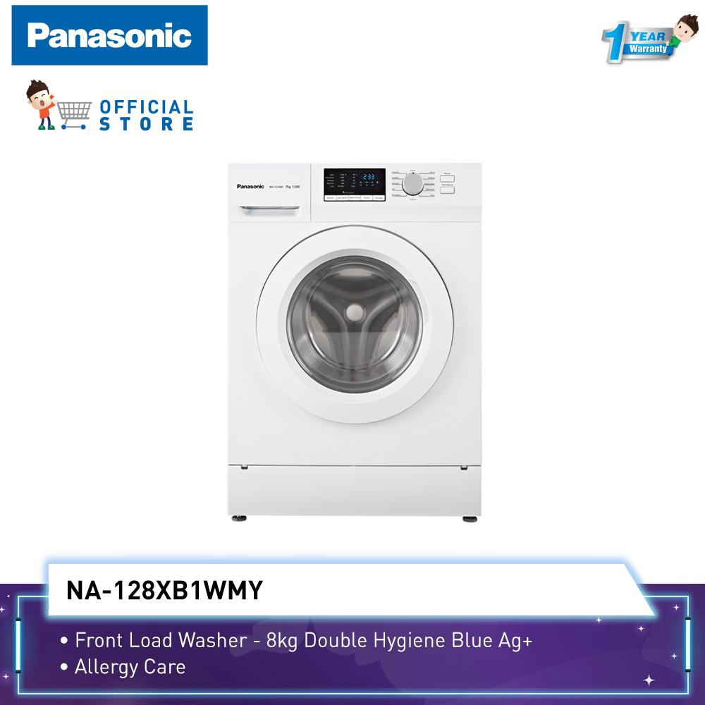 Panasonic 8KG Front Load Washer NA-128XB1
