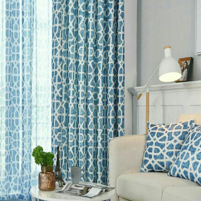 Curtain Langsir Sliding Door Tingkap Window 🔥Hot🔥Langsir Corak ...