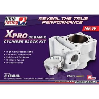 UMA RACING X-PRO Y150ZR LC135 62/65MM Block For Super head