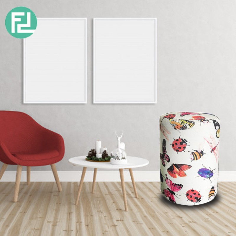 Furniture Direct BUTTERFLY washable cover foot stool