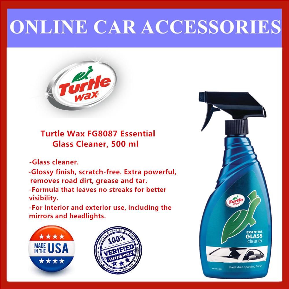 Turtle Wax FG8087 Essential Glass Cleaner, 500 ml