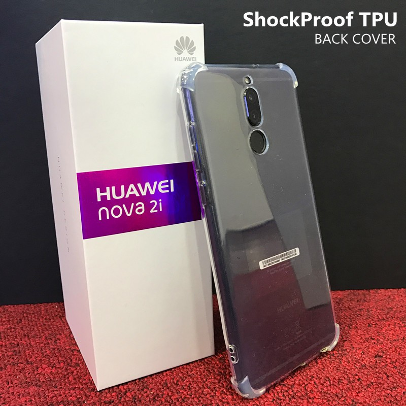 reputable site 280fc 4ce4a Huawei Nova 2i HD Clear ShockProof Transparent TPU Case