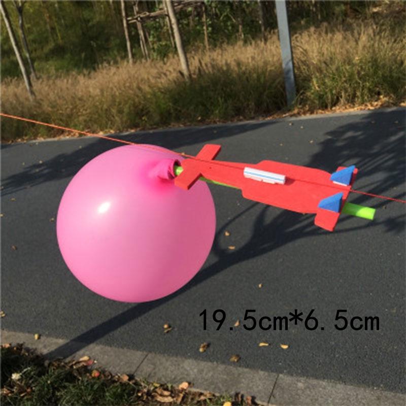 Toy Diy Homemade balloon rocket