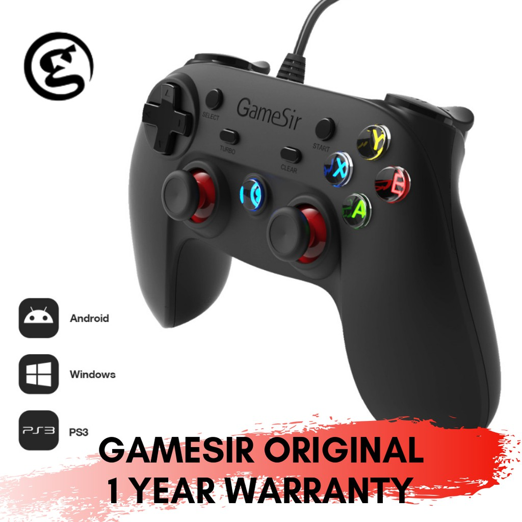 Gamesir G3w USB Wired Gamepad Controller Gaming For Smartphones PC Android