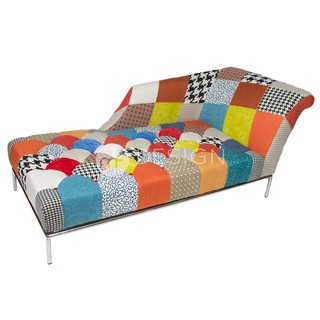 Awe Inspiring Mfd Princess Patchwork Chaise Lounge Chair Gmtry Best Dining Table And Chair Ideas Images Gmtryco