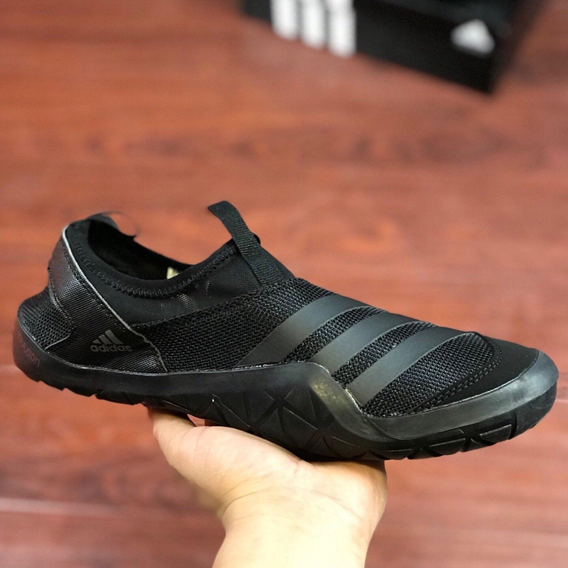 Viajero Ataque de nervios Sin sentido  Adidas Climacool Jawpaw Slip On surface Light original men and women's  shoes black | Shopee Malaysia