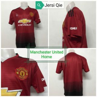 separation shoes d2960 5f58b Jersi Manchester United Home 2018/19 jersey kit Red Adidas (Free Shipping)