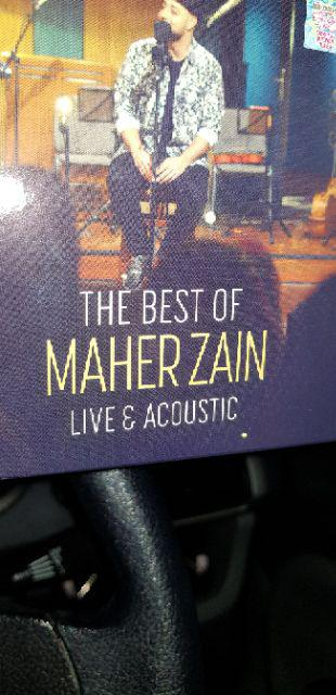 CD The Best of Maher Zain (Live & Acoustic) | Shopee Malaysia