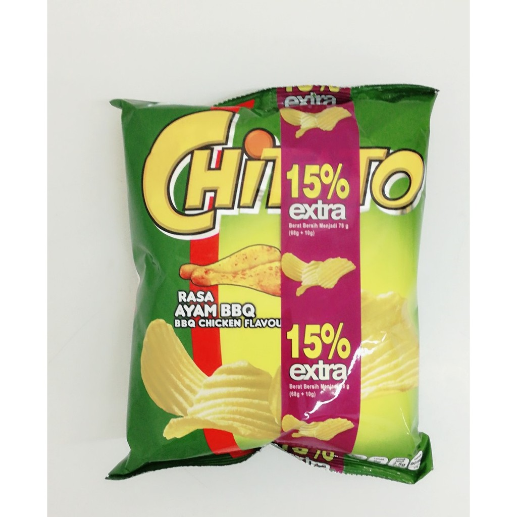 Halal Indonesia Chitato Chips Shopee Malaysia Makaroni Rasa Green Tea