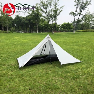 Shanniu Tower Poleless Portable Camping Pyramid Tent Single Ultra Light Outdoor Equipment Camping Supplies Shopee Malaysia