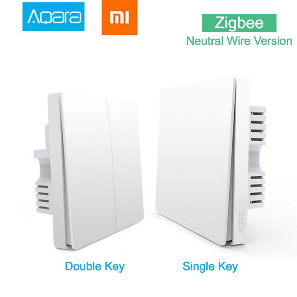 Xiaomi Aqara Neutral & Live Wire Switch ZiGBee version Wireless Key