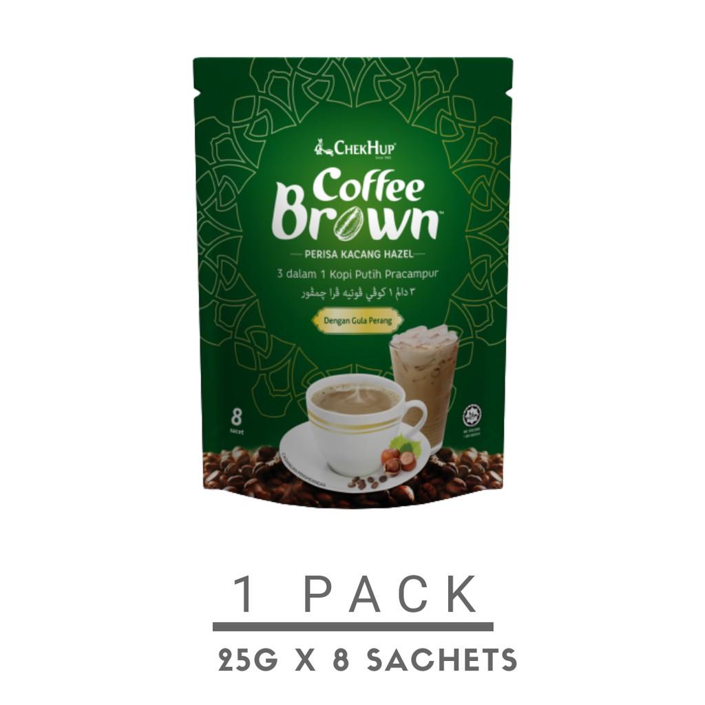 Chek Hup Coffee Brown with Hazelnut (25g x 8s)