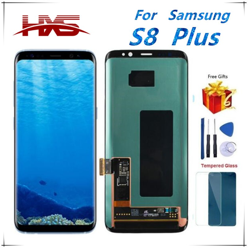High quality 100% tested for Samsung Galaxy S8 Plus/S8+ LCD touch screen  repair replacement