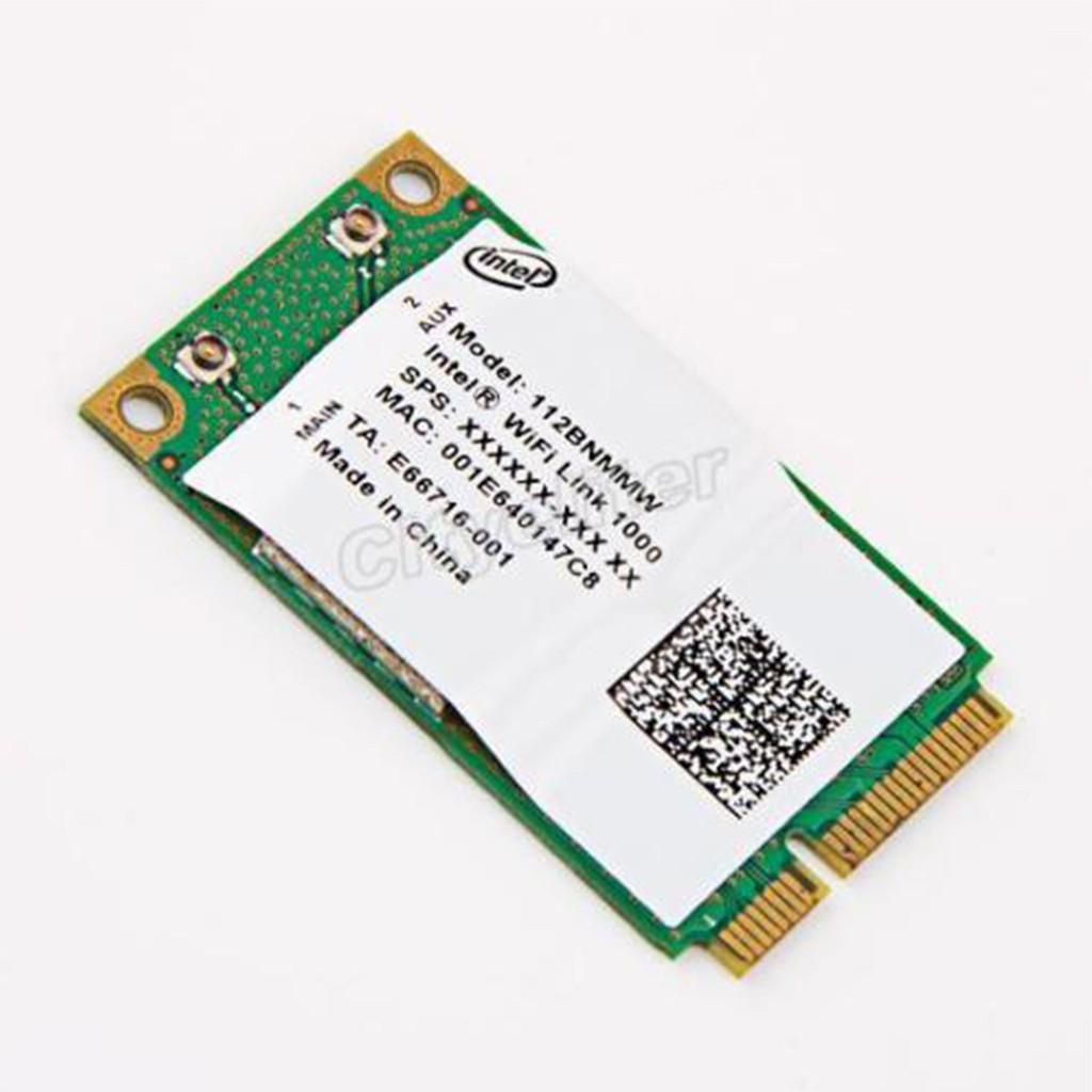 Intel-Link-1000-BGN-112BNMMW-300Mbps-Wireless-N-Wifi-Mini-PCI-E-Card I