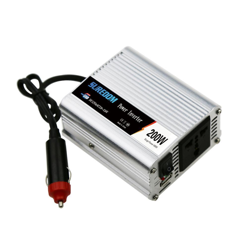 Wechselrichter 240v Usb Yh Efficient 1200w Car Power Inverter Converter Adapter Dc 12v To Ac 220v