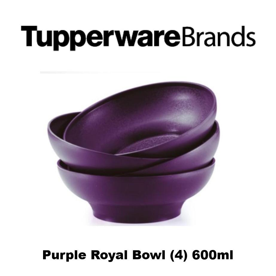 Purple Royale Bowl (4) 600ml
