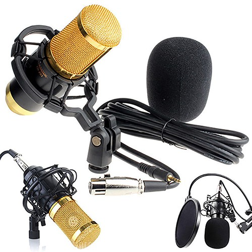 BM-800 Live Streaming Studio Recording Condenser Microphone | Shopee Malaysia
