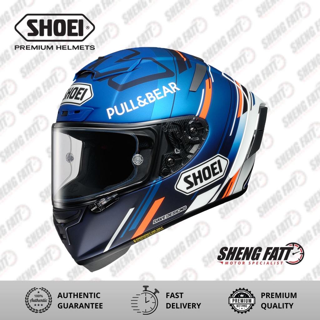 SHOEI XSPIRIT AM73 Helmet for Motorcyclist Superbike Full Face Helmet